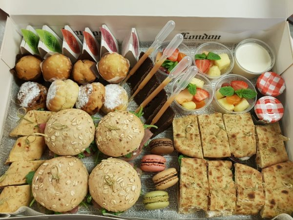 rosco catering high tea box